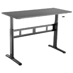 Economical Manual Electric Sit to Stand Desk Standing Desk Hand Cranked