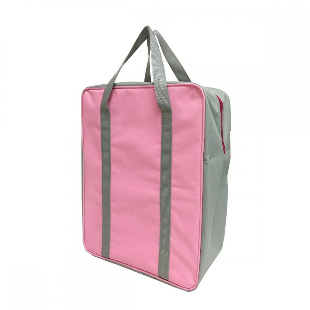 Contrast Color Cooler Bag