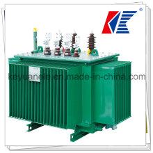 Transformador de potencia de inmersión en aceite serie S9 50 kVA-1600kVA