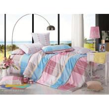 Vários impresso folha de cama 100% algodão pillowcase duvet cover set