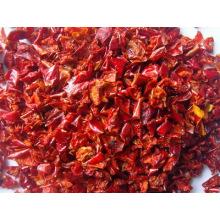 Poivron rouge déshydraté avec qualité supérieure