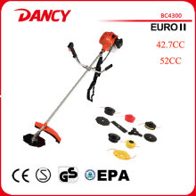 43cc gasoline 2 stroke engine brush cutter