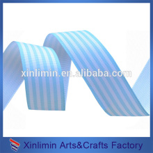 Custom size and color washable stripe ribbon for bag