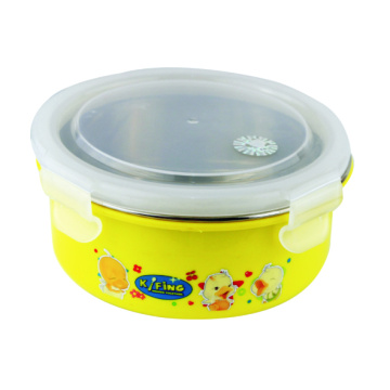 450 ml Stainless Steel Container Round Shaped