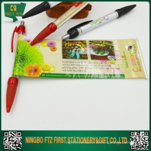 Plastic Pull Out Anzeigen Banner Pen