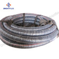Tank truck wagon rubber oil suction discharge hose