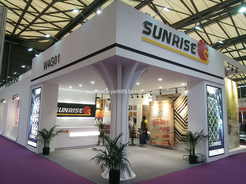 Our Stand at 2017 Domotex Asia Fair 1