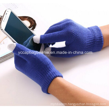 Touch Screen Glove, Knitted Glove