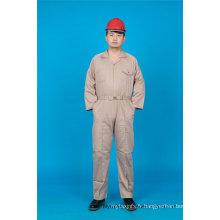 Sécurité Pas Cher Haute Qualité 65% Polyester 35% Coton Combinaison Vêtement de Travail (BLY1028)
