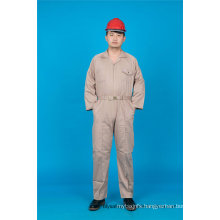 Safety Cheap High Quality 65% Polyester 35%Cotton Coverall Working Garment (BLY1028)