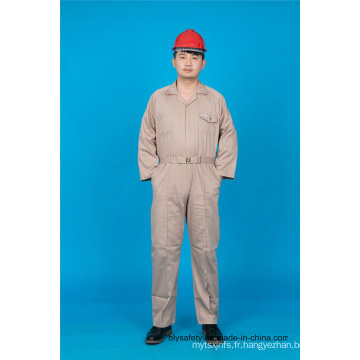 65% Polyester 35% Coton Sécurité Printemps / Été Vêtements de Travail Uniforme (BLY1028)