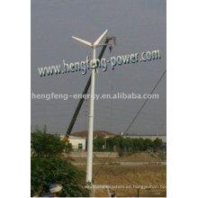 turbinas de viento de generador de imán permanente de 10kw eje horizontal