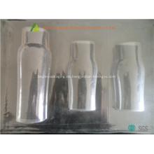 Transparente Kunststoff-PVC-Fach für Shampoo-Flasche