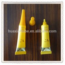 recipientes de cosméticos para centros comerciales, recipientes de plástico redondos pequeños, pequeños recipientes de plástico con bisagras