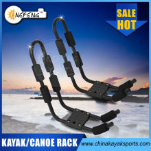 Steel frame kayak rack