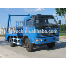 Camión de basura de Dongfeng Duolika 5cbm / compacto Camión de basura / camión de compresor / camión de basura del brazo del gancho / camión de basura del brazo basculante