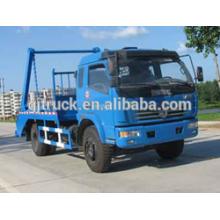 Dongfeng Duolika 5cbm camion à ordures / compact camion à ordures / compresseur camion / crochet bras camion à ordures / balançoire bras camion à ordures