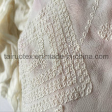 Stickerei Krepp Seide Chiffon für Lady Dress Fabric