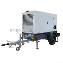 4 cilindros refrigerados por agua Yangdong motor remolque genset con certificación CE