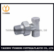 Nickel-Plating Elbow Male Brass Radiator Valve (YS5005)