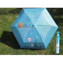 Niedlichen Kaninchen Regenschirm Flasche Regenschirm für Kinder (YSB0017)