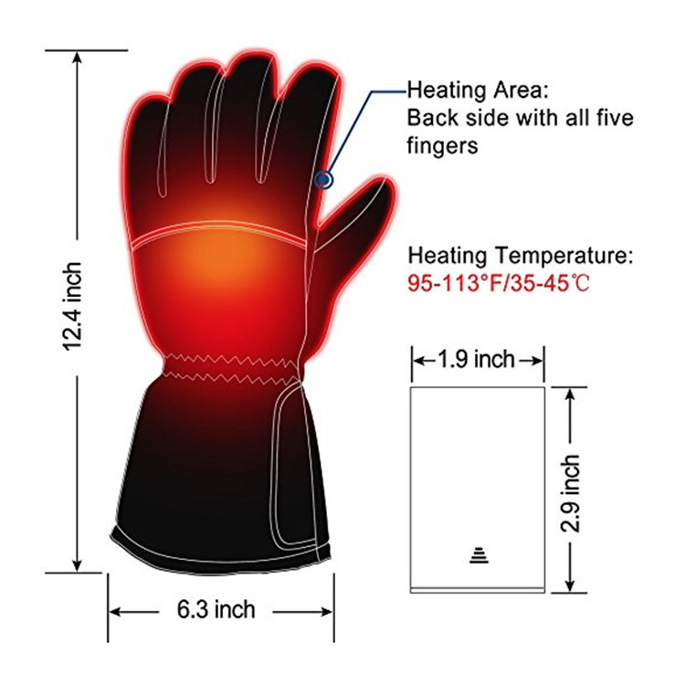 Electrical Sole Electric shock gloves
