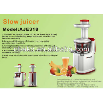 2016 hot slow auger juicer