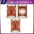 Cabina de ascensor de acero inoxidable