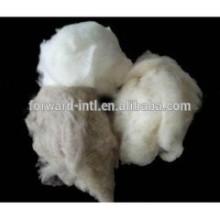 Tipos de calidad diferente color Dehaired fibra de cachemira