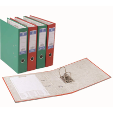 Office folders are made of PVC and cardboard