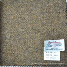 Green Harris tweed suit and jacket fabric