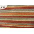 Latest Chenille Fabric Wholesale Stripe for The Faine Sofa