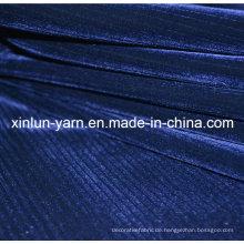 100% Polyester Dekoration Beflockung gestrickte Stoff für Sofa Set Designs