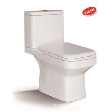 1211A Washdown - WC de dos piezas con tapa de asiento lento PP