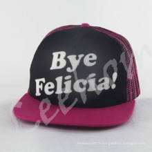 Fiftted Wholesale Snapback Mesh Cap Hat