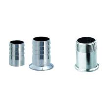 Adaptador de manguera de goma sanitaria / adaptador roscado (IFEC-SA100001)