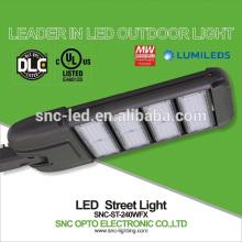 240 w conduziu a luz de rua com fotocélula, lâmpada de rua conduzida exterior conduzida, ul luz de rua de 240 watts conduzida