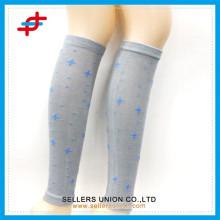 Heiße Stern gemusterte Dame Baumwoll strickte schöne Beinwärmer Socken