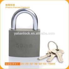 PREÇO BARATO!!!! Produto normal Segurança Heavt barata Segurança Plástico Pintado Cadeado de Ferro