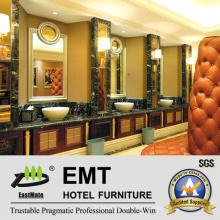 Panneaux muraux décoratifs de salle de séjour d'hôtel de haute qualité (EMT-F1213)