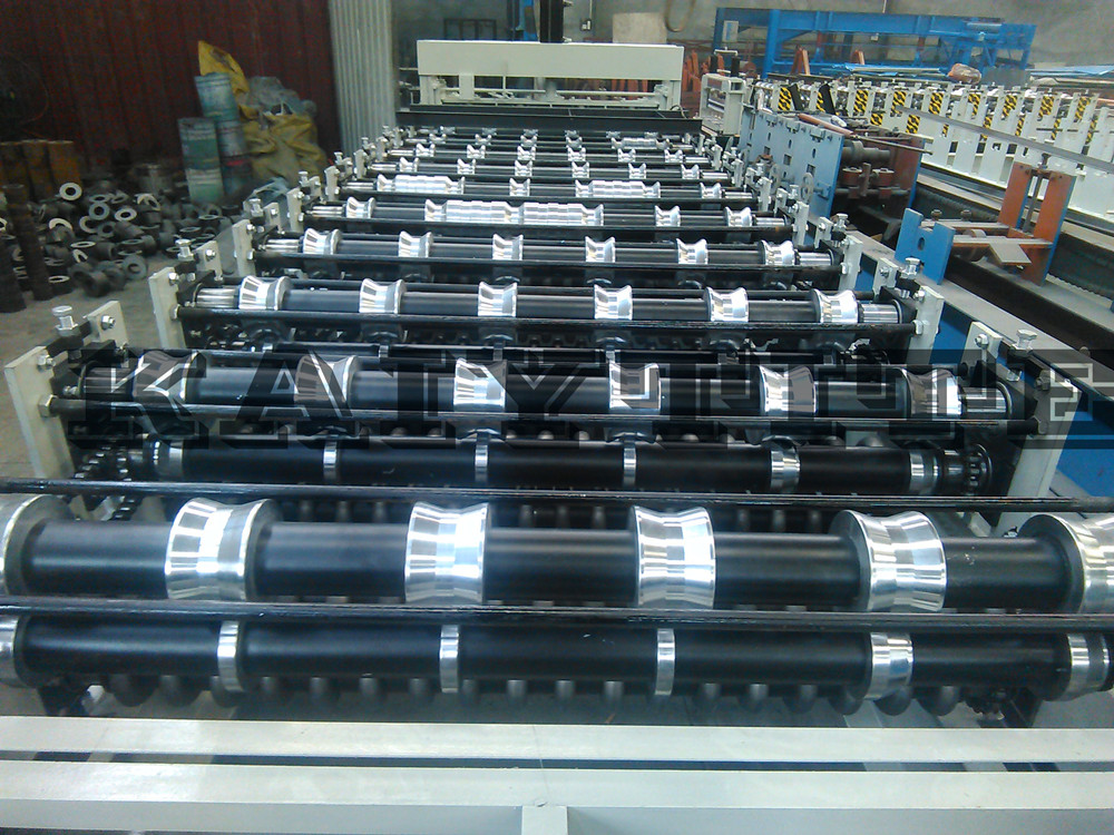 Color Sheet Double Layer Roll Forming Machine