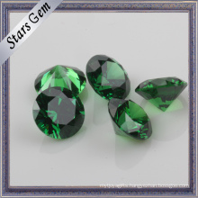Wuzhou Origin Dark Green Cubic Zirconia Emerald for Jewelry