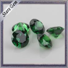 Учжоу происхождения темно-зеленый Изумруд цирконий для ювелирных изделий