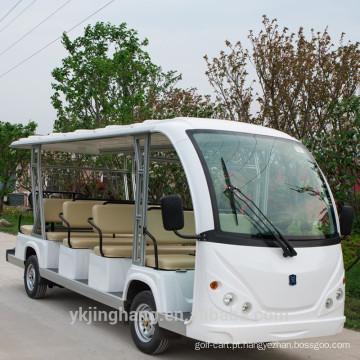 23 passager carro resort elétrico / ônibus de turismo / turista carro elétrico com porta usada arear cênica