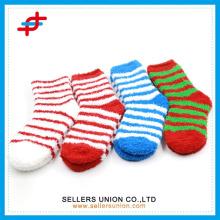 Winter Damen Frottee Socken / Microfaser gemütliche Crew glückliche Socken dicke Schuh Socke