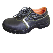 Best Price PU Outsole Cow Leather  safe toe Safety Shoes safety boots leather