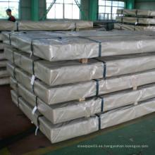 Hojas de aluminio y placas de material para la construcción de la pared