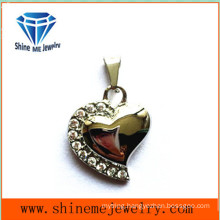 Fashion Zircon Jewelry 316L Stainless Steel Pendant