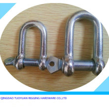 Screw Pin Ancla Chain Shackle Tipo europeo Grillete