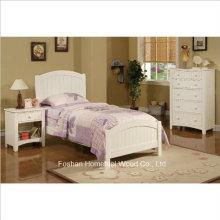 3 шт. Спальня для детей с двумя спальнями в белом отделке